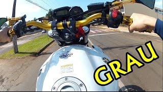 Empinando a XJ6 | GRAU DE XJ6 BRANCA !!