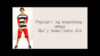 Binibini by Daniel Padilla w/lyrics