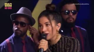 RG - Luan Santana e Anitta no Música Boa Ao Vivo (18/04/2017)