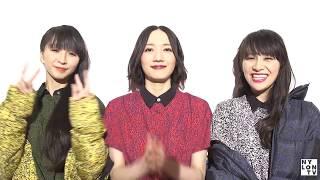 Perfumeからコメント動画が到着! NYLON JAPAN10月号カバーストーリー