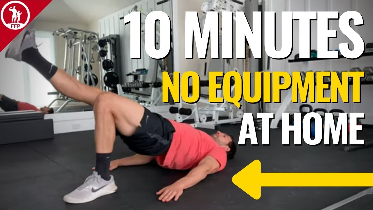 10-Minute Home Workout (No Equipment Needed!)