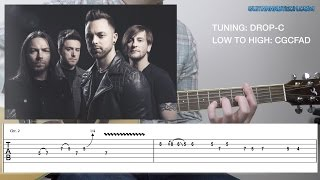 Bullet For My Valentine - Tears Don't Fall (Acoustic) (FREE GUITAR TAB)