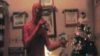 Spiderman sings Spiderman