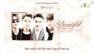 [Vietsub+Kara][Audio] Baekhyun - Beautiful (EXO NEXT DOOR OST) [EXO Team]