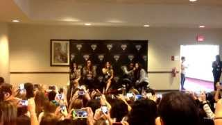 Fifth Harmony Acoustic cover of Red during Houston's VIP