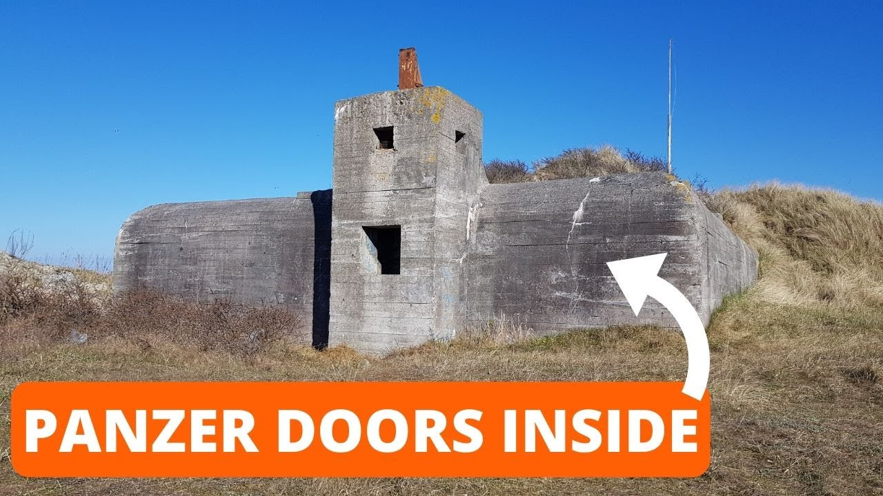 Panzer Doors found Inside MASSIVE German Underground Bunker. WOW !