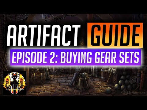 RAID: Shadow Legends | Gear & Artifact Guide, Episode 2: Buying gear sets? How many go in the bin?