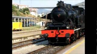 Comboio a vapor na Régua