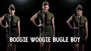 BOOGIE WOOGIE BUGLE BOY (music video) - Michelle Creber x3