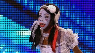 Geisha Davis sings Humpty Dumpty - Britain's Got Talent 2012 audition - International version