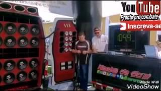 Record racha de som Brasil Master nandin sound   153.5 7 DRIVER-alto Falantes trunder 5k7
