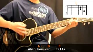 Nicole C Mullen - When Heaven Calls Cover With Guitar Chords Lesson