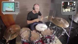 """Castelo Rá-Tim-Bum """"Ratinho tomando banho"""" (Drum-Cover vídeo - Adson Lisboa)"""