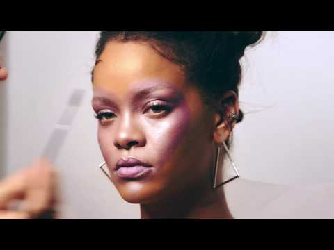 Rihanna Previews Fenty Beauty Makeup Line on the Cover of ELLE Magazine | ELLE