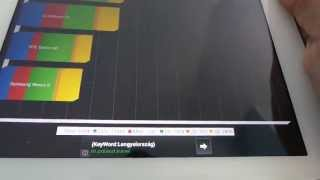Samsung Galaxy Tab 3 10.1 Quadrant benchmark video | Tech2.hu