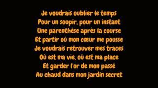 Celine Dion - Parler à mon père (Lyrics/Paroles HD)