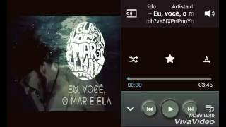Luan Santana -Letra  Eu,Você o mar e ela falando sobre a música ( cover)
