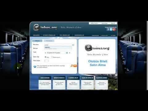 online otobüs bileti nasıl nereden alınır otobus.org istanbul ankara otobüs bileti arama motoru