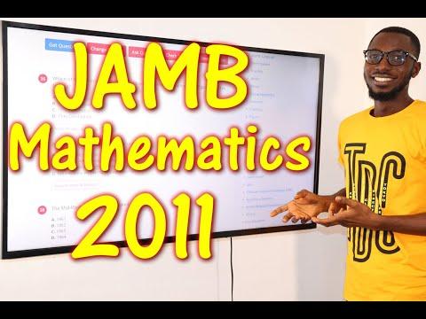 JAMB CBT Mathematics 2011 Past Questions 1 - 16