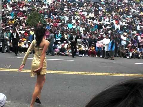 Canaval Parade Ambato, Ecuador