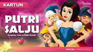 Putri Salju - Kartun Anak Cerita2 Dongeng Anak Bahasa Indonesia - Cerita Untuk Anak Anak width=
