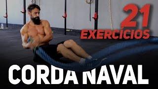 21 Exercícios com a CORDA NAVAL Para um Treino POWER | Sérgio Bertoluci