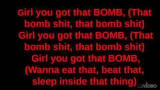 Trey songz - Bomb a.p WITH LYRICS