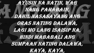 Hangga't may pagkakataon - Vlync [ Lyrics ] 2013