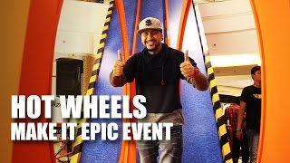 Hot Wheels Make It Epic Event 2016 | Children's Day | Mad Stuff With Rob