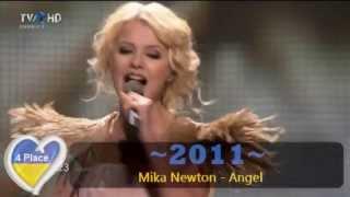 Eurovision - Ukraine 2003-2013 entries (HQ & HD)