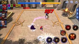 {Marvel Future Fight} Spiderman T2new uni in World Boss Invasion