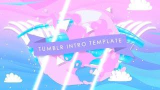 TRENDY TUMBLR INTRO TEMPLATE (NO TEXT)