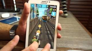 Samsung Galaxy Tab 3 7 inch T211 Gaming Review HD YouTube