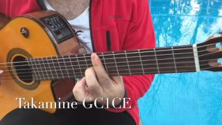 Takamine GC1CE - Elektro Klasik Gitar (Bi Kuple)
