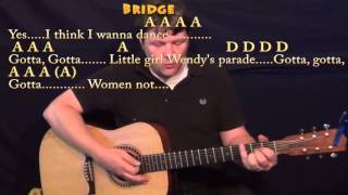 Kiss (Prince) Strum Guitar Cover Lesson with Chords/Lyrics - A D E