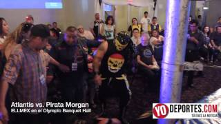 Atlantis vs. Pirata Morgan Jr. en Chicago