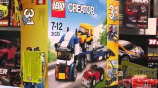 Обзор lego 31033 Автотранспортер Lego Creator