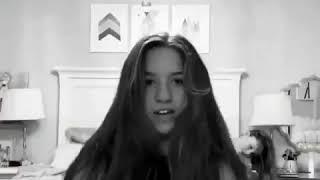 Mackenzie Ziegler dancing to Kim Possible theme song