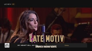 LATE MOTIV - Ruth Lorenzo, 'My heart will go on', 7 versiones | #LateMotiv23