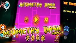 GEOMETRY DASH 2.1 EPIC TEXTURE PACK!-(ANDROID & STEAM)-MAGMA 2.1 V3