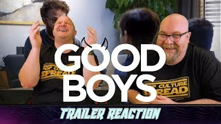 The Good Boys Trailer Reaction
