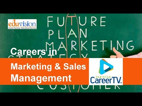 Career in Marketing and Sales