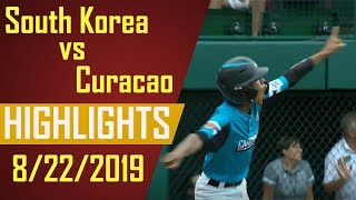 Little League World Series 2019 - South Korea vs Curacao Highlights   LLWS 2019