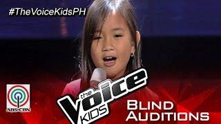 """The Voice Kids Philippines 2015 Blind Audition: """"Hanggang Kailan Kita Mamahalin"""" by Kate"""