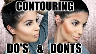 CONTOURING DO'S AND DONTS  | Laura Lee width=
