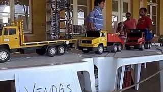SHOWROOM Miniaturas de caminhões e ônibus @ 9º Encontro de Carros Antigos de Ponta Grossa