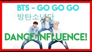 BTS - 고민보다 Go (Go Go) INSPIRED DANCE MOVES! 🔥