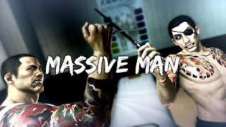 Yakuza 0 - Boss Battles: 3 - Massive Man (LEGEND)
