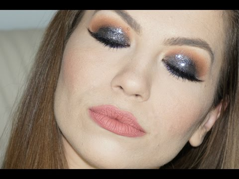 Tutorial machiaj Smokey Glitter