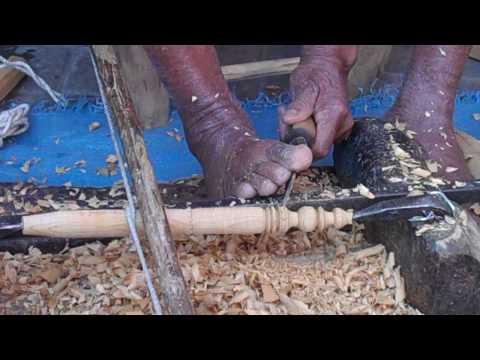 Handcrafting Cedar BBQ Skewers in Marrakech, Morocco